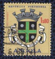 Angola 1963 Oblitéré Rond Used Blason De La Ville Vila Do Dondo - Angola