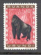 Ruanda Urundi 1959 - Michel Nr. 161 A ** - Ruanda-Urundi
