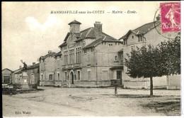 Dpt 55 Hannonville Sous Les Cotes Mairie Ecole  1925 EVT BE - Frankreich