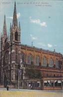 España--Bilbao--1910--Iglesia De Los R.R.P.P.Jesuitas--Fechadores-Bilbao Y Charente-a Marihon, Francia - Vizcaya (Bilbao)