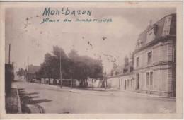 37-  90334 -  MONTBAZON     -  Place Des Marronniers 1949 - Montbazon