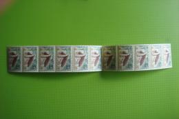 3-384 Roulette Bande De 11 Ronchamp Le Corbusier Architecte  Architec YT63a  France  Numero Rouge Tirage N°2 ? - Rollen