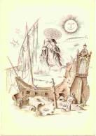 Carte Postale Illustrée Par PEYNET   Les Signes Du Zodiaque   Signe  POISSONS - Peynet