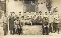 Ref F538- Carte Photo - Militaires Militaria -regiments -fontainebleau 1922  - Carte Bon Etat  - - Fontainebleau