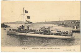 La  SARBACANE     Contre Torpilleur D'escadre    1924 - Warships