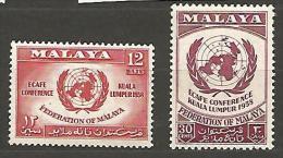 MALAISIE N� 85 / 86 NEUF** LUXE SANS CHARNIERE / MNH