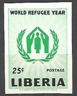 LIBERIA 366 NON DENTELE NEUF** LUXE SANS CHARNIERE / MNH
