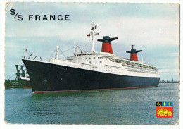 Paquebot  France      1970 - Steamers