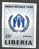 LIBERIA PA N� 120 NON DENTELE NEUF** LUXE SANS CHARNIERE / MNH