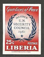 LIBERIA  N� 373 NON DENTELE  NEUF** LUXE SANS CHARNIERE / MNH