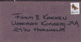 Denmark LYNGBY 1993 Cover Brief To HØRSHOLM Schmetterling Butterfly Papillon Stamp - Dänemark