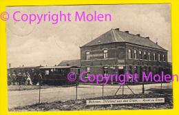 Top HALTE TRAM & CAFÉ STATIEHUIS Te BETEKOM = BEGIJNENDIJK Verzonden In 1907 STOOMTRAM TRAMWAY à VAPEUR 4066 - Begijnendijk