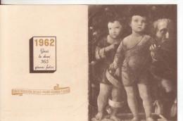 31-Calendarietto Casa Di Redenzione Sociale-Milano-Niguarda- 1962-Religione: Gesù-Ottime Condizioni - Calendari