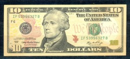 USA * 10 DOLLARS / 10$ YEAR 2006 * FEDERAL RESERVE NOTE * UNCIRCULATED