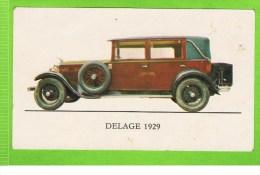 Delage 1929, Type DM - 1929 France, Jubilé, 141/150 Vieux Tacots - Autos