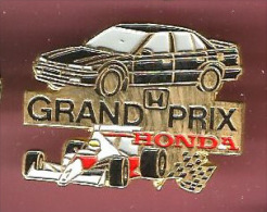 43203-Pin's.Honda.Racing Team.rallye.F1.automobile.. - Honda