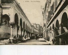 C3901 Cpa  Algérie - Alger,  Rue De La Marine - Alger