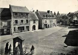 Puy De Dome  -gd Format Div- Ref  N 827 -  Tauves - Cure D Air - Grande Place - Petit Plan Hotel De France  - - France