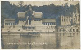 Siam Pavilion In Torino Italy Exhibition 1911 Exhibition Vignette Nude Men Edit. Campassi Diena - Thailand
