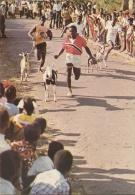 TRINIDAD AND TOBAGO  BUCCOO  Goat Race   Bird Thematic Stamp - Trinidad