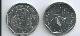 2 Francs Georges Guynemer 1997
