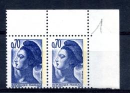 France Maury 2245 B - Variété Double Frappe - Cote 20 Euros - T 62 - 1982-90 Liberté De Gandon