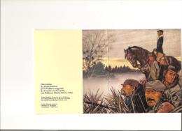 Scoutisme Plaquette Publicitaire Illustrée Par Pierre Joubert à L´occasion De La Sortie De La Triologie De Tempête - Scoutisme