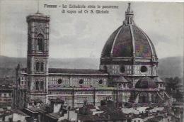 CPA  FLORENCE _  Cattedrale Vista In Panorama Di Sopra Ad S.Michèle - Unclassified