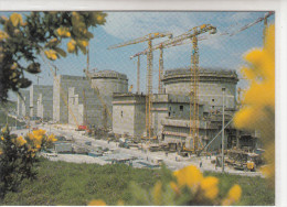 76 - LA CENTRALE NUCLEAIRE DE PALUEL / VUE DES 4 TRANCHES - France