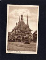 52632    Germania,  Wernigerode,  Rathaus,  NV - Wernigerode