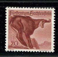 Liechtenstein ** - N° 228 - Chamois - Liechtenstein