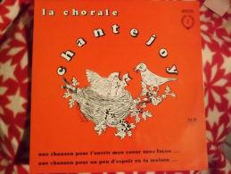 """Album 33t/12\"""".  La Chorale CHANTEJOY. Une Chanson Pour T'ouvrir Mon Coeur .... - Vinyles"""