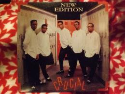 """Album 33t/12\"""".NEW EDITION. Crucial.  1989. - Vinyles"""