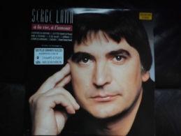 """Double Album 33t/12\"""".SERGE LAMA.  A La Vie, à L'Amour. - Vinyles"""