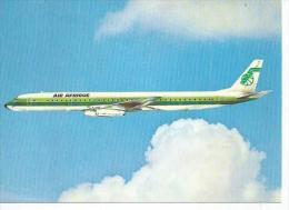 DC 8-63 F -  AIR AFRIQUE  ( Photo : ? ) - 1946-....: Moderne