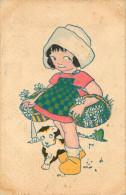 Fantaisies - Enfants - Fillette - Dessins D'enfants - Chiens - Chien - Dogs - Dog - Illustrateur - 2 Scans - état - Dessins D'enfants