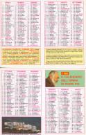 44-Calendarietto Padre Pio-Religione-1996-Plastificato-Fior Di Stampa - Calendari