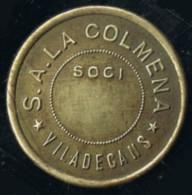 Moneda  Cooperativa S.A. La Colmena De VILADECANS (Barcelona) - Professionnels/De Société