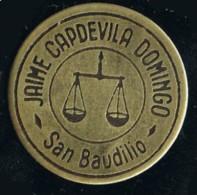 Moneda  Cooperativa Jaime Capdevila. SAN BAUDILIO De LLOBREGAT (Barcelona) - Profesionales/De Sociedad