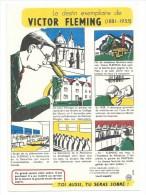 Buvard Thème  Personnage Celebre  Le Destin Exemplaire De Victor Fleming - Cinéma & Theatre
