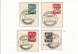 OLYMPISCHE SPIELE-OLYMPIC GAMES, Deutsches Reich / GERMAN REICH, 1940,  Special Stamps + Postmarks  !! - Estate 1936: Berlino