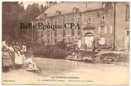 55 - SOMMEDIEUE - Vieux Château Sur La Dieue +++ Édition Mayeur, #8 +++ Vers Paris, 1914 +++ LAVANDIÈRES - France