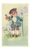 """Petit Garçon """"Belle Epoque"""". Jabot, Rose. 1945. Coloprint Spécial 1320/1 - Illustrators & Photographers"""