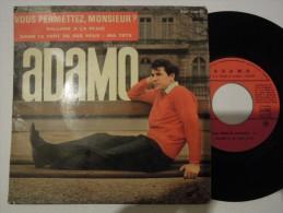 Salvatore Adamo - Vous Permettez Monsieur? - Sans Bandeau Club Adamo - La Voix De Son Maitre 740 France - Vinyl-Schallplatten