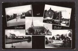 34282/ BERKEL, Groeten Uit, 2 Scans - Netherlands