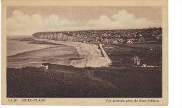 CRIEL - PLAGE.  Vue Générale Prise Du Mont Jolibois - Criel Sur Mer