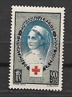 France:n°422 ** 75e Ann.de La Croix-Rouge (gomme Superbe) - France