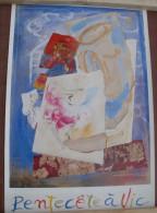 Affiche   PENTECOTE � VIC (49 cm x 74 cm)
