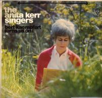 * LP *  ANITA KERR SINGERS - BERT KAEMPFERT TURNS US ON! (USA 1967 EX!!!) - Vinylplaten