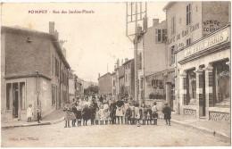 Dépt 54- POMPEY - Rue Des Jardins-Fleuris - (Café Du Bon Coin, François DOLVECK, Vêtements Au Petit Paris) - France